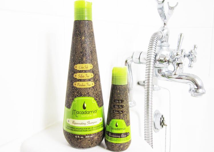 Haircare Review: Macadamia Rejuvenating Shampoo & Moisturising Rinse