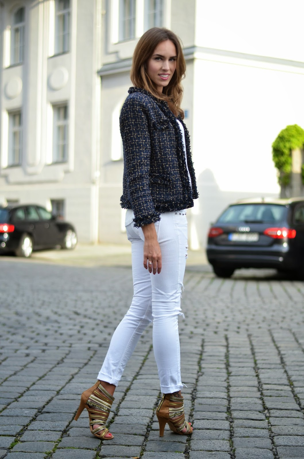 kristjaana mere white summer outfit