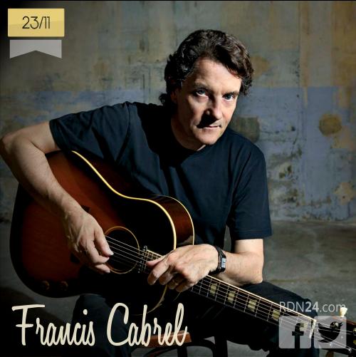 23 de noviembre | Francis Cabrel - @cabrelfrancis | Info + vídeos