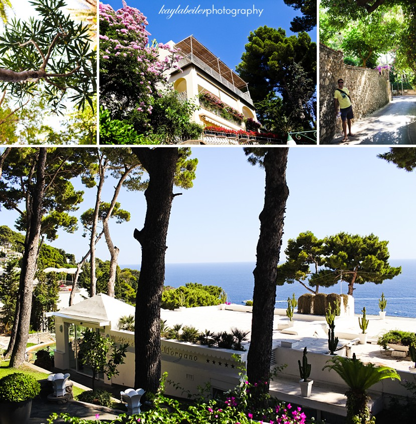 expensive hotels capri photo