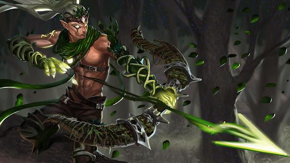 varus skin fan art league of legends