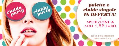 Neve Cosmetics - Cialda Party di Compleanno 2013