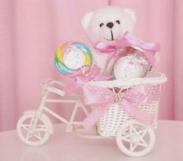 miniatur sepeda souvenir unik ultah anak