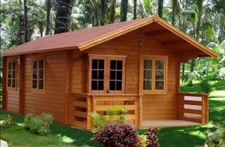 Desain Rumah Kayu Minimalis Elegan dan Indah