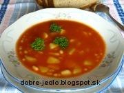 Fazuľová polievka s paradajkovým pretlakom - recept