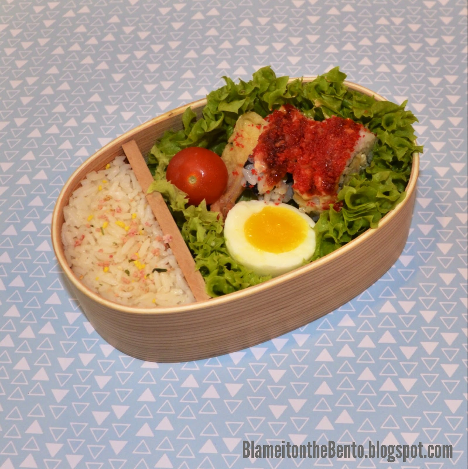 Traditional magewappa bento box