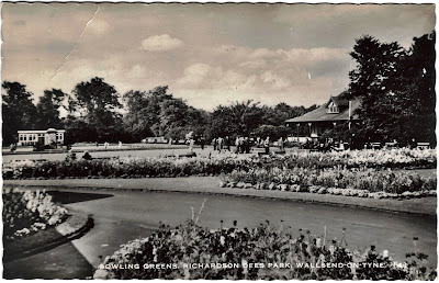 1960s postcard of Richardson Dees Park Wallsend-on-Tyne, England