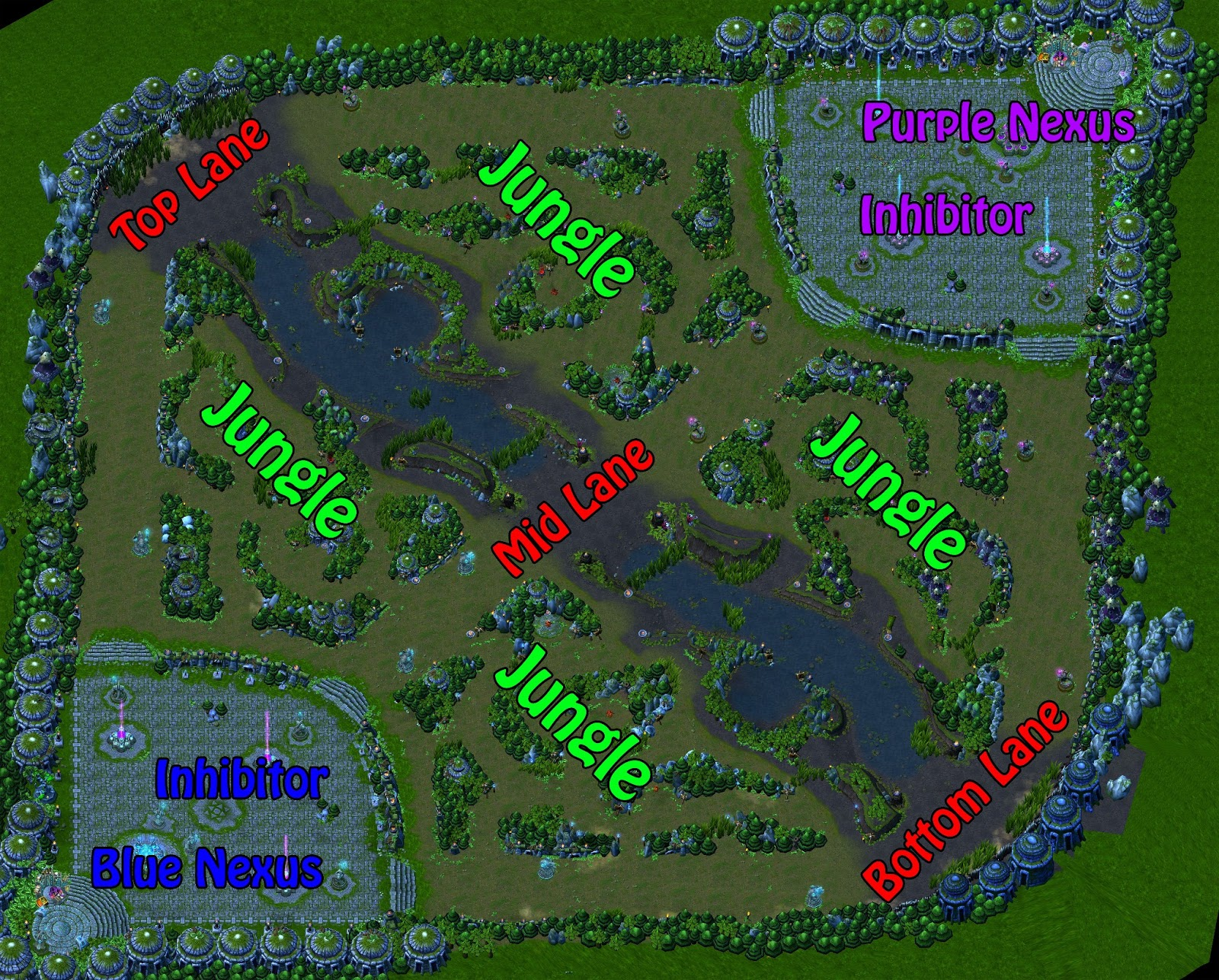league of legends gamer lol map - lol map