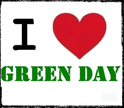 i love green day