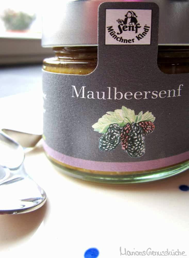 Münchner Kindl Maulbeer Senf