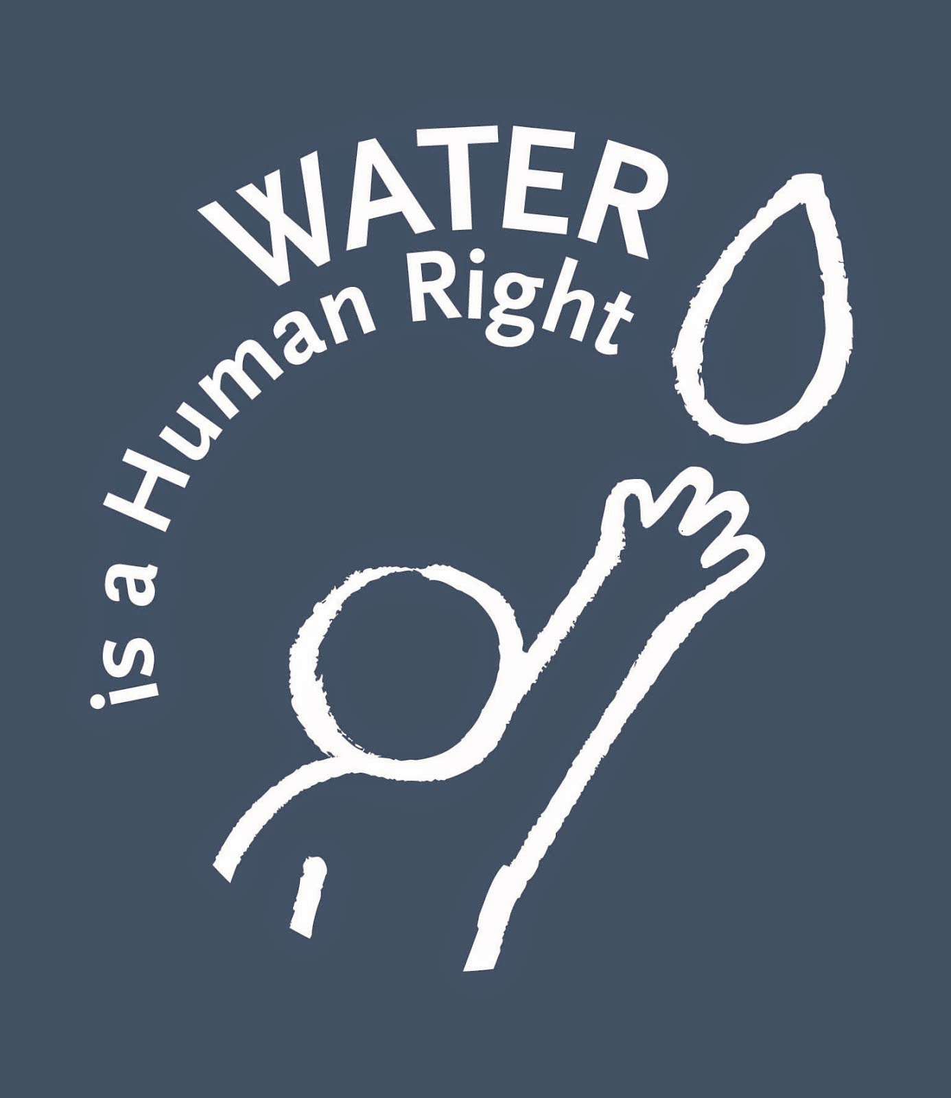 Water Is A Human Right!