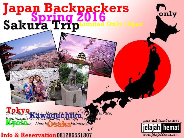 Paket Wisata | Paket Tour | Liburan Musim Semi Jepang