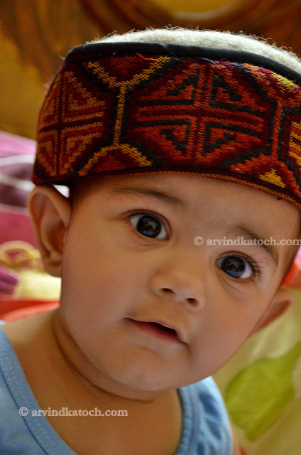 baby, cap, Himachali, cute, wallpaper, poster