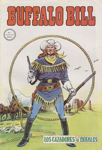 BUFFALO BILL, Mundi-Comics. (Colección completa) Aporte de Doncomic