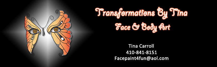 Transformations By Tina; Face & Body Art