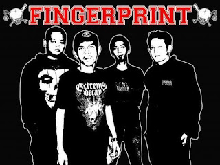 Fingerprint Band Hardcore Medan Sumatera Utara Logo Wallpaper Artwork cover Photo