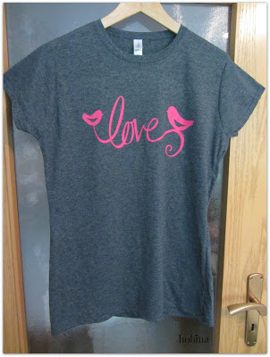Love-Shirt grey