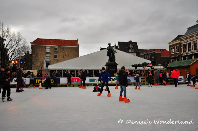 Skating Ring in Dordrecht Christmas Market