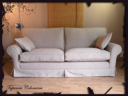 Servicio de tapicer a sof cisne con fald n - Tapiceria para sofas ...