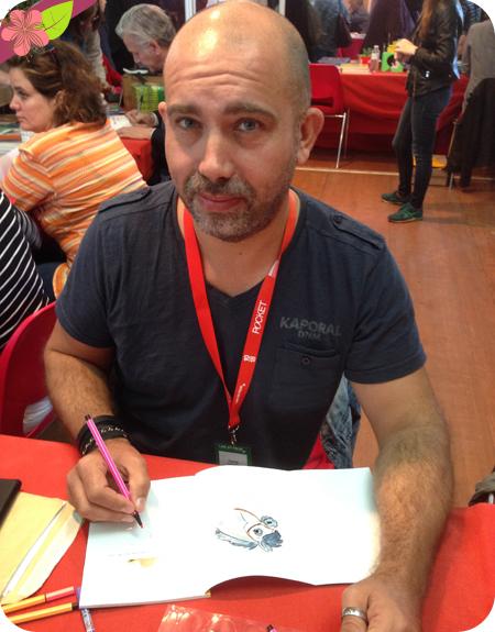 Pascal Brissy - Salon Lire poche 2015 - Gradignan