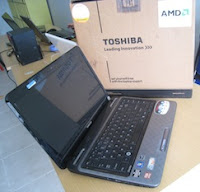 laptop 2nd malang toshiba satellite l745