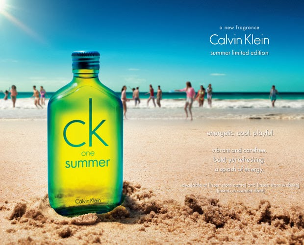 COLONIA CK ONE SUMMER 2014