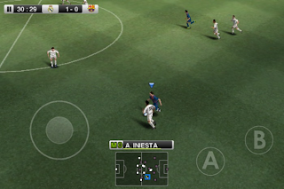 Free Download  PES 2012 Pro Evolution Soccer Android Game Photo