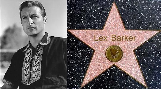 Lex Barker szinesz csillaga