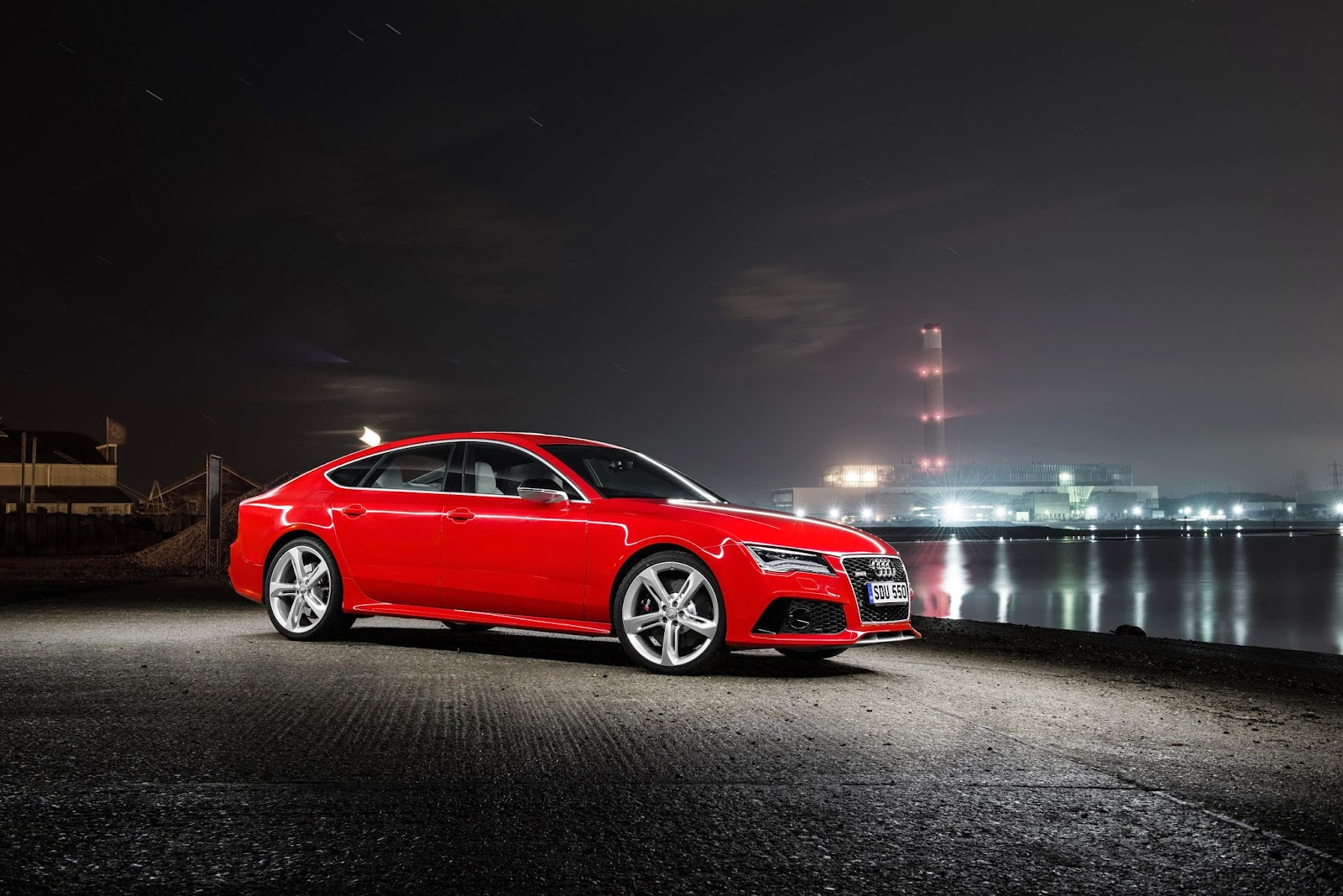 Red Audi RS7