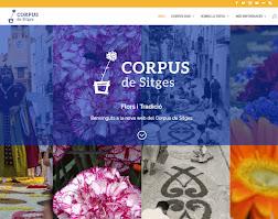 NOVA WEB OFICIAL DEL CORPUS DE SITGES
