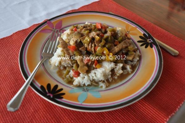 Beef Stroganoff Recipe by www.dish-away.com