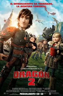 Película Cómo entrenar a tu dragón 2, de Dean DeBlois - Cine de Escritor