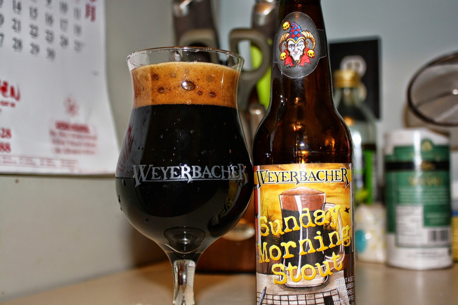 Weyerbacher, Sunday Morning Stout, Craft Beer, Pennsylvania
