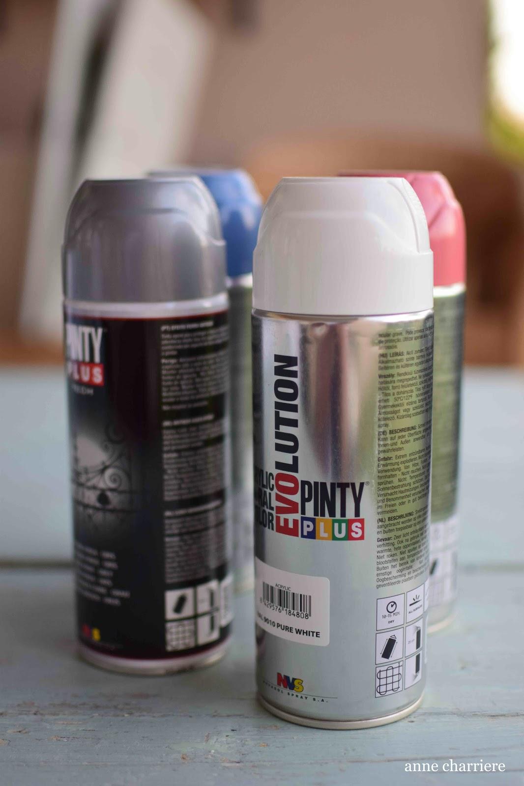 Anne charriere blog de bricolaje y tecnicas de pintura en - Pintura con spray ...