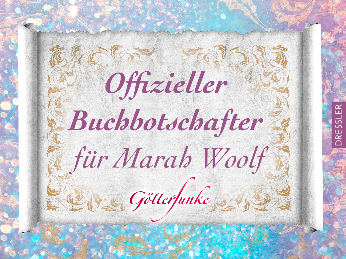 Buchbotschafterin: Marah Woolf