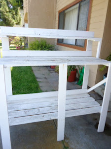 The Potting Bench I got tired of painting and decided to make one myself.