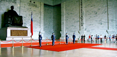 Changing Guards Ceremony at CKS Memorial Hall Taipei