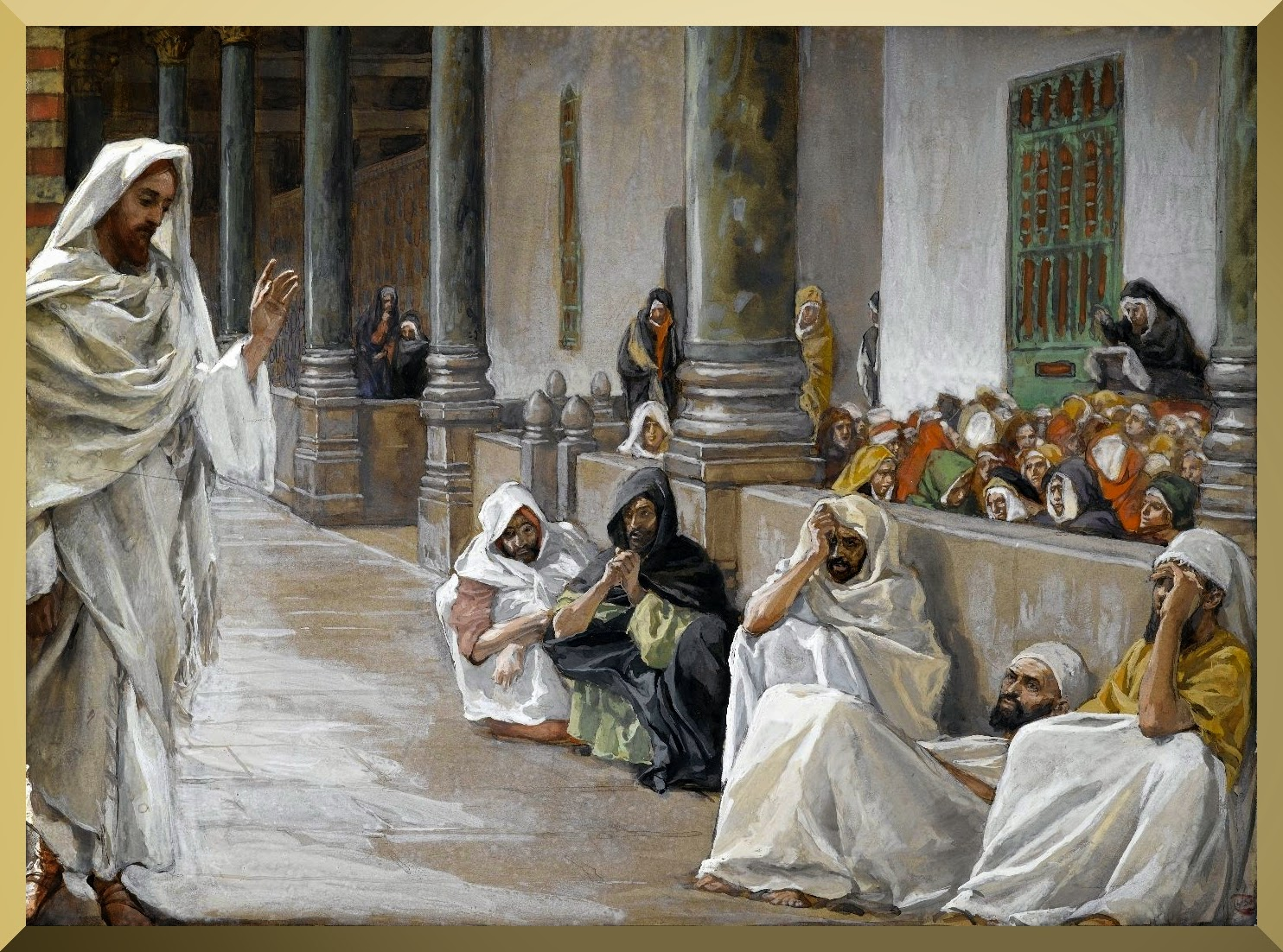 """He Who is of God Hears the Word of God"" -- by James Tissot.jpg"