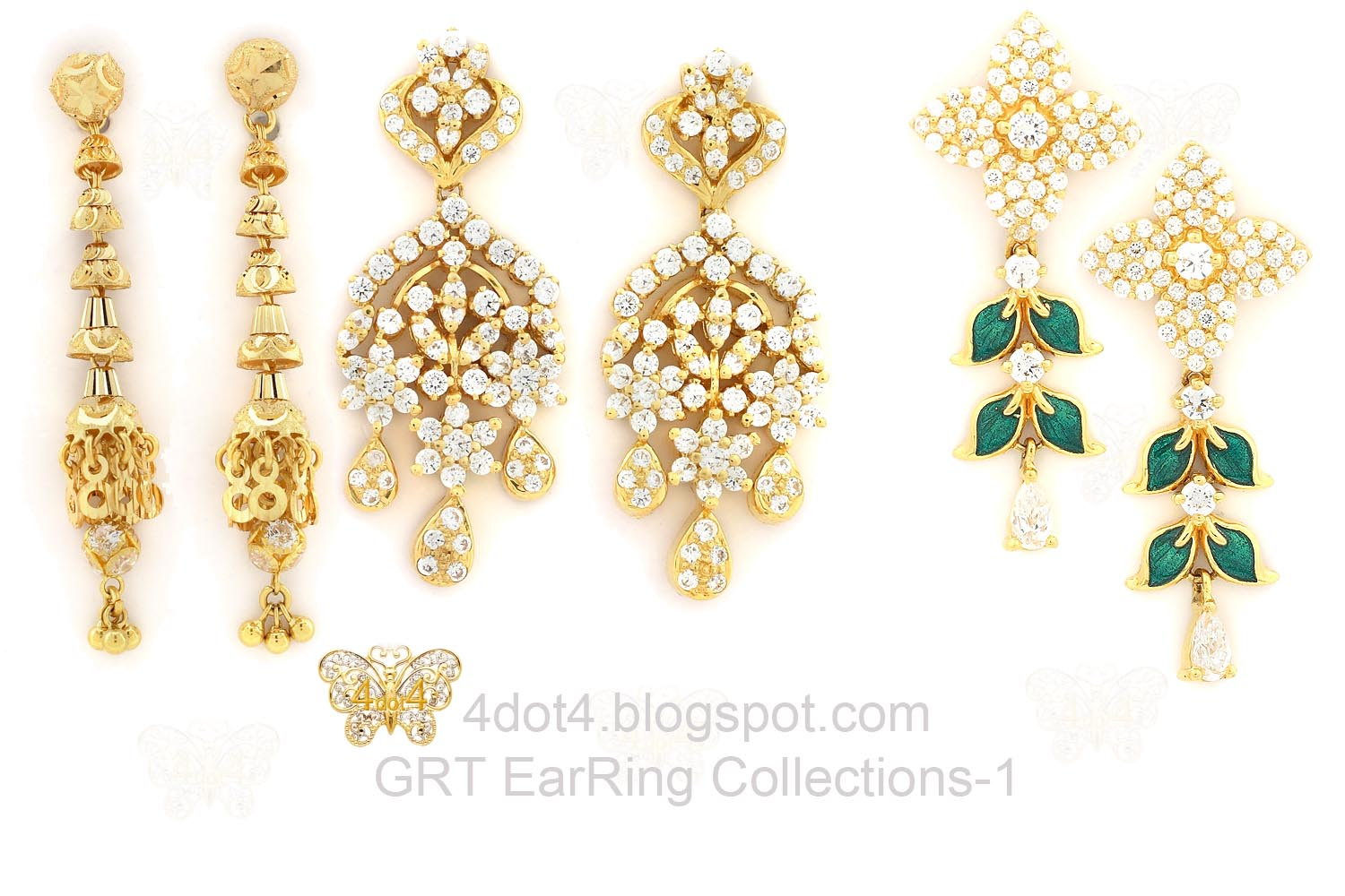 4.4 (Gold Special): Ear Rings (Latest 30 Designs)