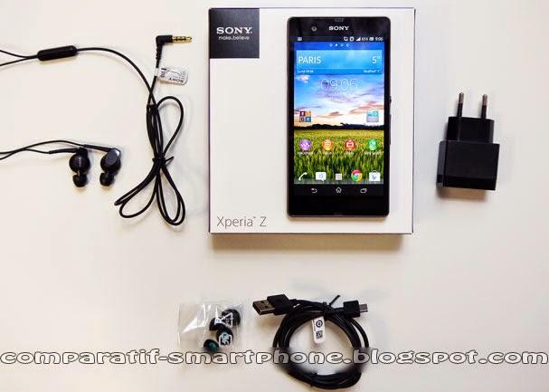 Tout sur le SmartTout sur le Smartphone etanche Sony Xperia Z Prix, Caractéristiques, Fiche Technique