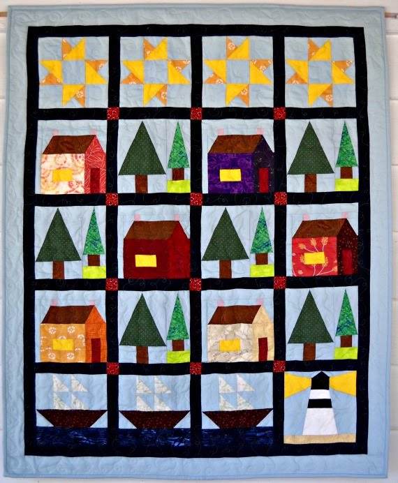 Home by the Sea Quilt