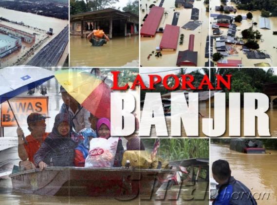Mangsa banjir Ipoh masih ditempatkan di pusat pemindahan banjir