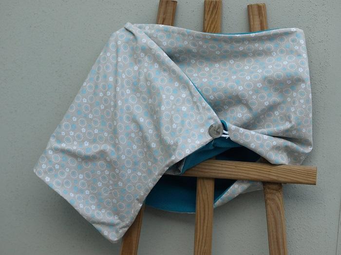 huegelring wickelschal mit knopf. Black Bedroom Furniture Sets. Home Design Ideas