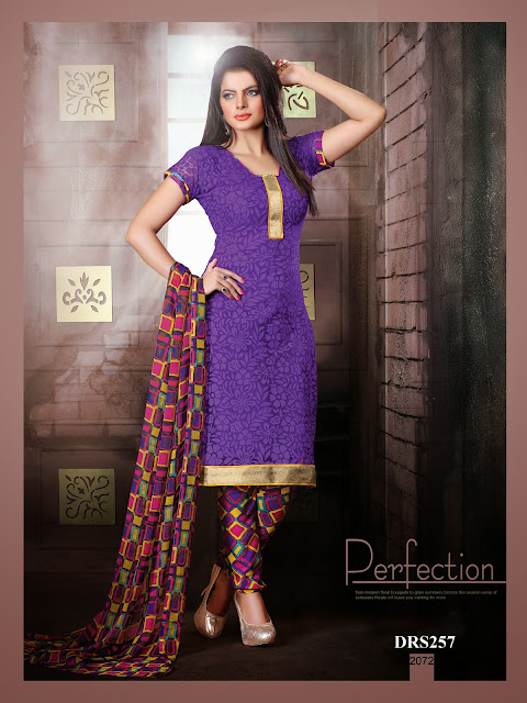 Buy Online Gorgeous Brasso Dress Material