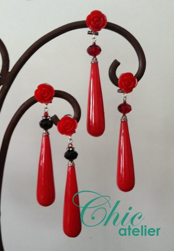 Pendientes y complementos de moda flamenca