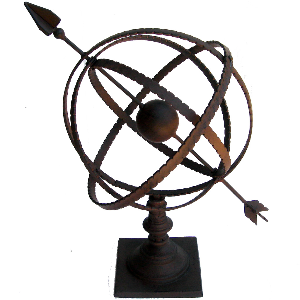 Sundial garden ornament - Sundials And Armillary Spheres As Garden Ornament