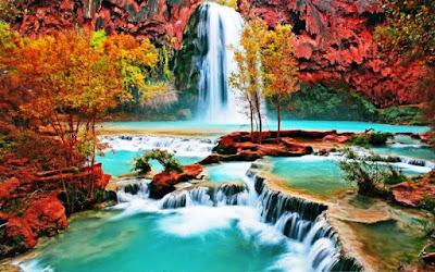 Gambar Pemandangan Alam Air Terjun Tercantik Di Dunia 2600