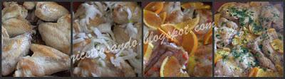 Pollo all'arancia ricetta di carne bianca