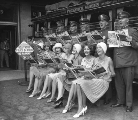 Grupo de flappers