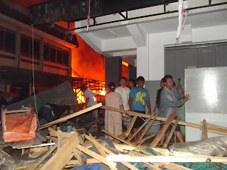 Kebakaran Pujasera Subang